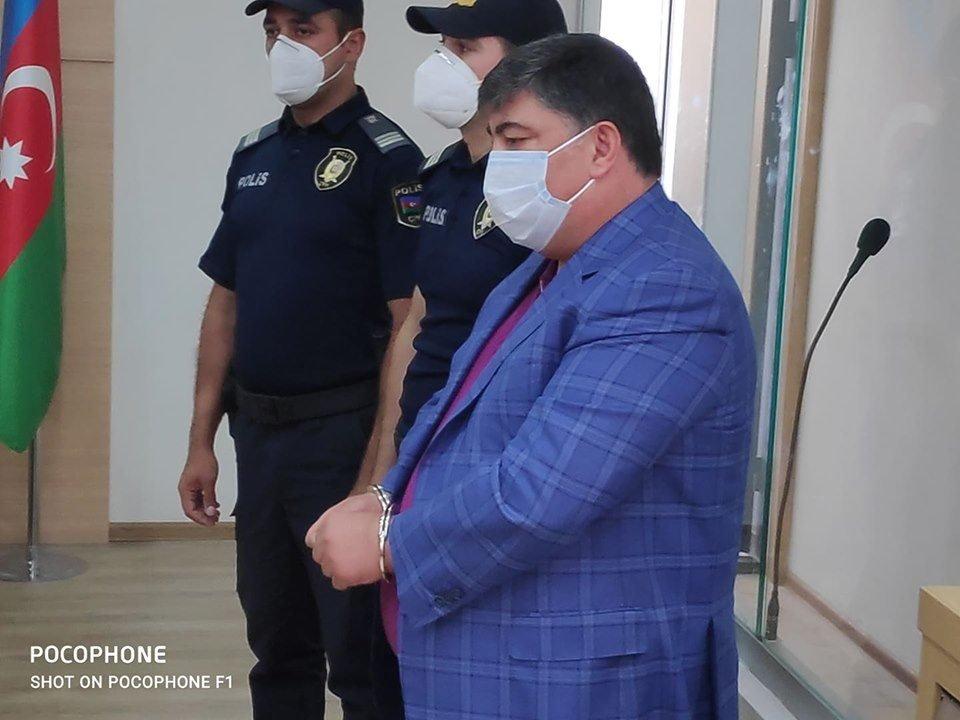 Ramiz Mehdiyevin kürəkəni qandallandı - Video