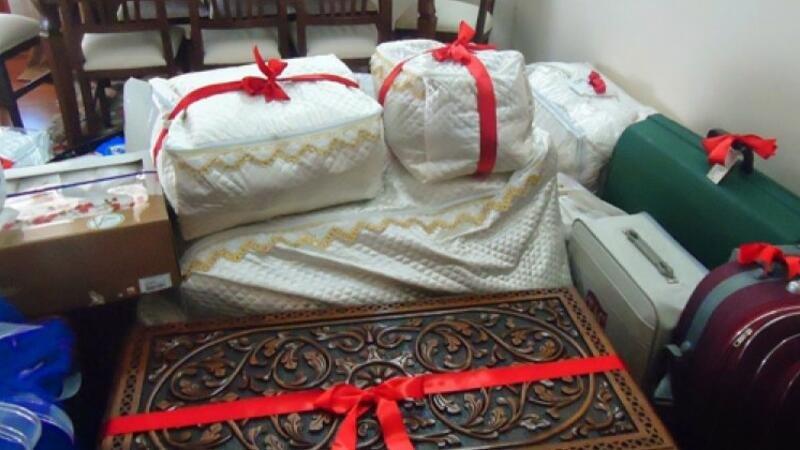 Göyçayda nişanlı qızın cehizləri oğurlandı