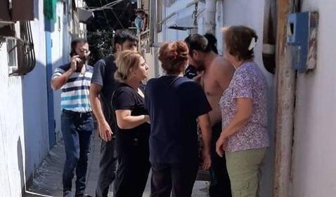 Evi zəbt edilən paytaxt sakini intihara əl atdı - Foto