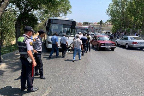 Avtobusla maşın toqquşdu - sərnişin öldü