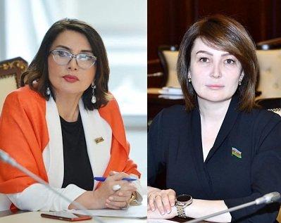 """""""O təklif mənim deyil"""" - Mətbuat iki xanım deputatı dəyişik saldı – QALMAQAL"""