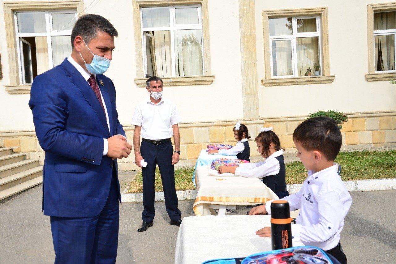 Millət vəkili Ağdaş rayonuna səfər etdi