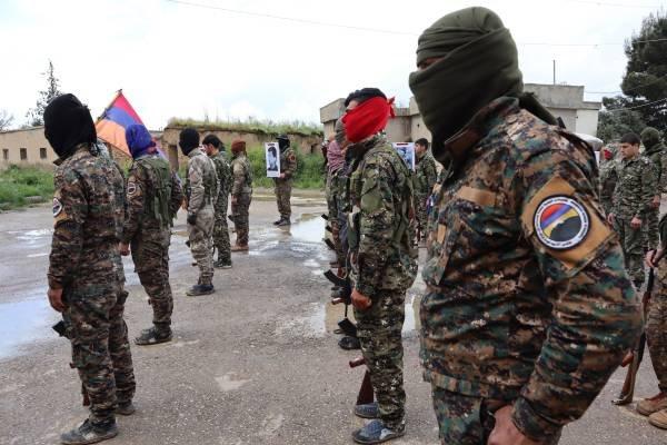 Suriyadan erməni batalyonu da Qarabağa göndərildi