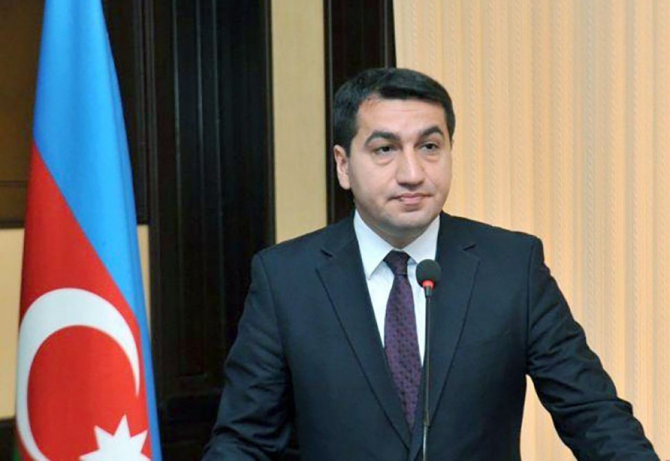 """Hikmət Hacıyev: """"Paşinyan Səddam Hüseynin taktikasını təkrarlayır"""""""