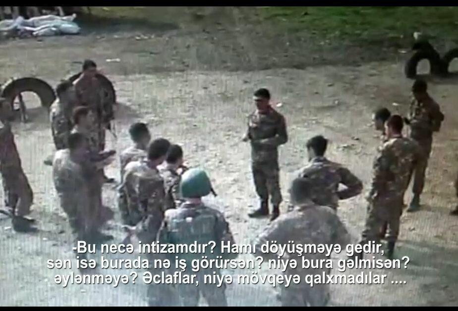 """Düşmən """"könüllülər""""i mövqeləri özbaşına tərk edir - Video"""