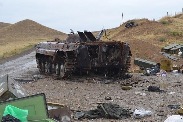 Düşmənin hərbi texnikası sıradan çıxarıldı - MN