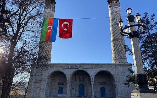 Şuşada bayram namazı qılındı - Video