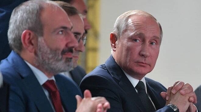 Paşinyan Putindən hərbi yardım istədi