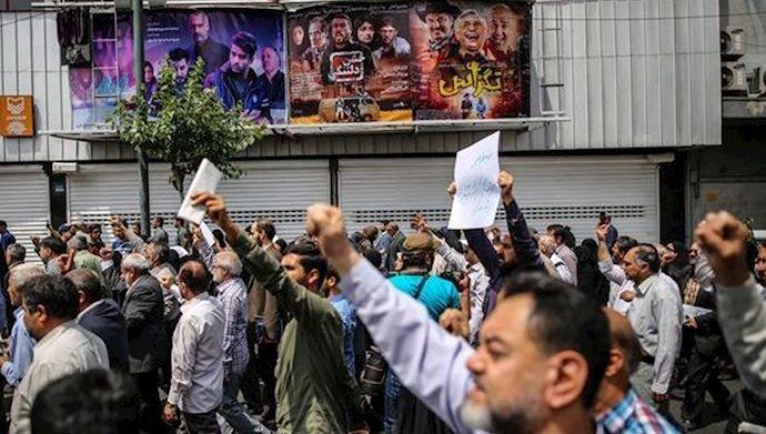 İranda etirazlar: 14 polis yaralandı