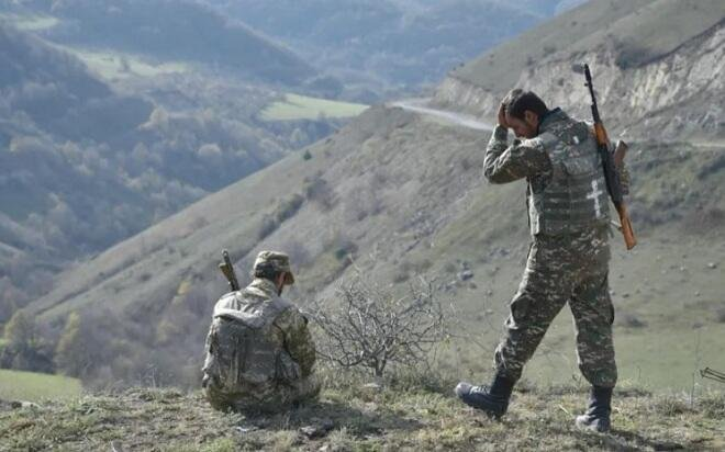 Sərhəddə atışma: 3 erməni əsgər yaralandı