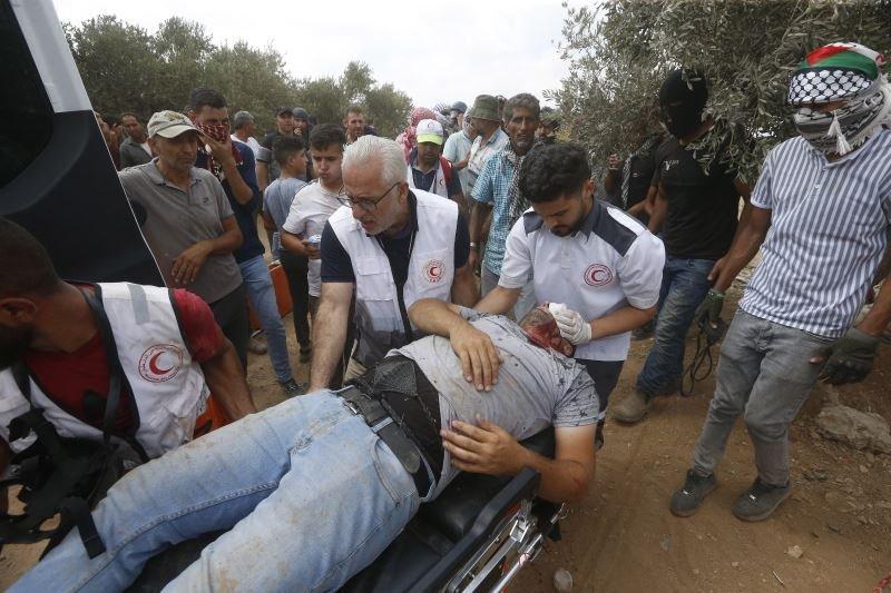 İsrail polisi ilə fələstinlilər arasında toqquşma