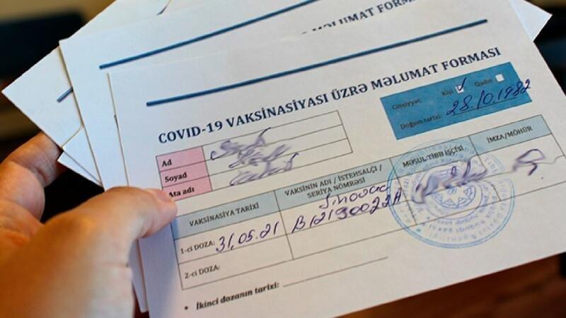 Sentyabrın 1-dən harada COVID-19 pasportu tələb olunacaq? - SİYAHI