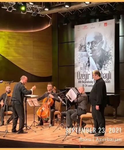 Kolumbiyalı bəstəkar Beynəlxalq Bəstəkarlıq Müsabiqəsində birinci yeri tutub