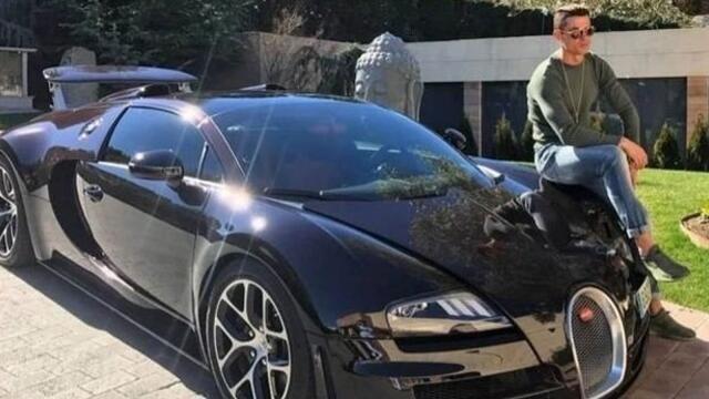 Ronaldonun 8.5 milyonluq yeni avtomobili - Foto